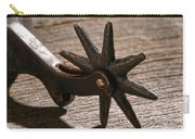 Antique Star Spur Carry-all Pouch