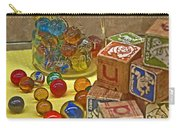 Antique Toys Carry-all Pouch
