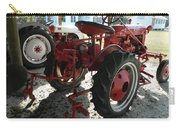Antique Tractor Hiding In The Shadows Carry-all Pouch
