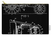 Antique Tractor Patent Carry-all Pouch