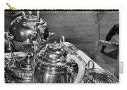 Antique Victorian Tea Service In The Boardwalk Plaza Lobby - Rehoboth Beach Delaware Carry-all Pouch