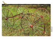 Antique Wagon Frame Carry-all Pouch