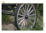 Antique Wagon Wheel  Carry-all Pouch