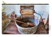 Antique Washing Machine Carry-all Pouch