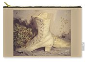Antique Wedding Shoes Carry-all Pouch