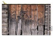 Antique Wood Door Damaged Carry-all Pouch