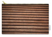 Antique Wood Texture Carry-all Pouch