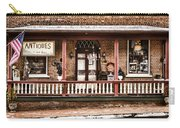 Antiques Bought And Sold Carry-all Pouch by Heather Applegate