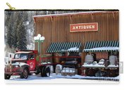 Antiques In The Mountains Carry-all Pouch