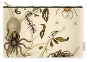 Ants Spiders Tarantula And Hummingbird Carry-all Pouch