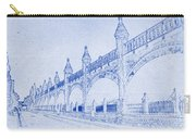 Antwerp Railway Bridge Blueprint Carry-all Pouch