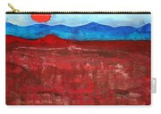 Anza-borrego Vista Original Painting Carry-all Pouch