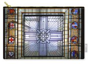 Anzac Day 2014 Auckland War Memorial Museum Stained Glass Roof Carry-all Pouch