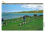 Anzak Cemetery Along The Dardenelles In Gallipolii-turkey Carry-all Pouch
