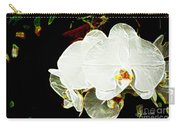 Aos White Orchid 1 Carry-all Pouch