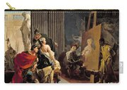 Apelles Painting The Portrait Of Campaspe Carry-all Pouch