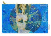 Aphrodite And  Cyprus Map Carry-all Pouch