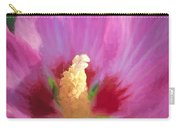 Aphrodite Rose Of Sharon Carry-all Pouch