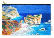 Aphrodite's Birth Place Carry-all Pouch by Augusta Stylianou