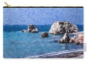 Aphrodites Rock Cyprus Carry-all Pouch