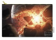 Apocalyptic Space Scene With An Carry-all Pouch