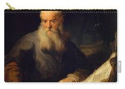 Apostle Paul Carry-all Pouch by Rembrandt