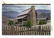 Appalachian Mountain Cabin Carry-all Pouch by Randall Nyhof