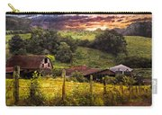 Appalachian Mountain Farm Carry-all Pouch by Debra and Dave Vanderlaan