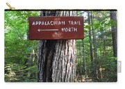 Appalachian Trail Sign North Carry-all Pouch