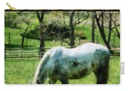 Appaloosa In Pasture Carry-all Pouch