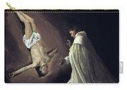Apparition Of Apostle Saint Peter To Saint Peter Nolasco Carry-all Pouch