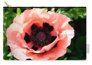 Appealing Pink Poppy Carry-all Pouch
