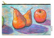Apple And Pear Twirl Carry-all Pouch