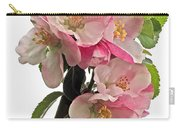 Apple Blossom Vertical Carry-all Pouch