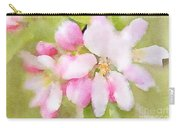 Apple Blossom Watercolour Carry-all Pouch