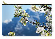 Apple Blossoms Frame The Rockies Carry-all Pouch