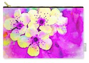 Apple Blossoms In Magenta -  Digital Paint Carry-all Pouch