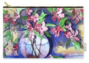 Apple Blossoms Carry-all Pouch by Sherry Harradence