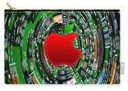 Apple Computer Abstract  Carry-all Pouch