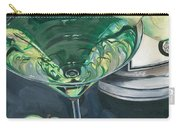 Apple Martini Carry-all Pouch by Debbie DeWitt