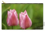 Apple Pink Tulips Carry-all Pouch