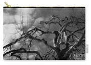 Apple Tree Bw Carry-all Pouch