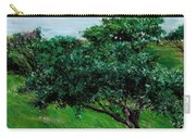 Apple Trees By The Sea Trouville Carry-all Pouch