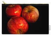 Apple Trio Carry-all Pouch