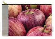 Apples 02 Carry-all Pouch by Nailia Schwarz
