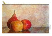 Apples And A Pear Carry-all Pouch
