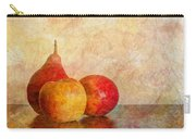Apples And A Pear II Carry-all Pouch