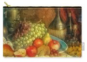 Apples And Grapes Carry-all Pouch