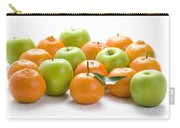 Apples And Oranges Carry-all Pouch