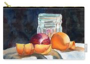 Apples And Oranges Carry-all Pouch by Mohamed Hirji